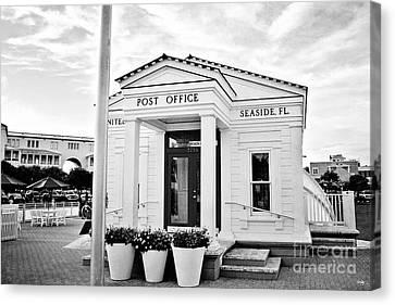 Seaside Post Office Canvas Print by Scott Pellegrin