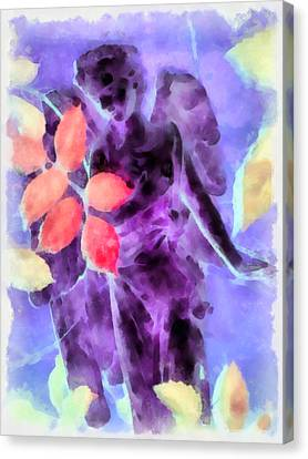 Send Me An Angel 3 Canvas Print by Angelina Vick