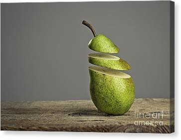 Sliced Canvas Print by Nailia Schwarz