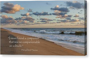 Solitude Canvas Print by Bill Wakeley