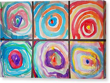 Spirals Canvas Print by Celestial Images
