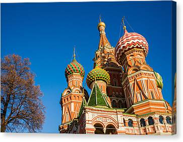 St. Basil's Cathedral Canvas Print by Alexander Senin
