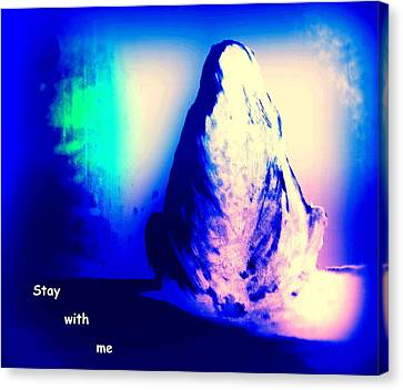 Stay With Me, Make Me Sway  Canvas Print by Hilde Widerberg