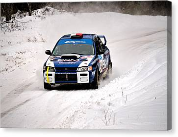 Subaru Car 94 Canvas Print by Rick Jackson