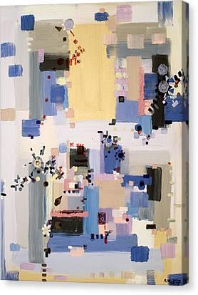 Subtle Machinery Canvas Print by Regina Valluzzi