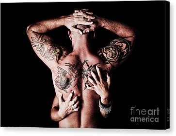 Tat Attraction Canvas Print by Jt PhotoDesign