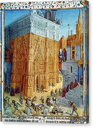 Temple Of Jerusalem Canvas Print by Granger