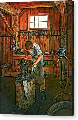 The Apprentice 2 Canvas Print by Steve Harrington