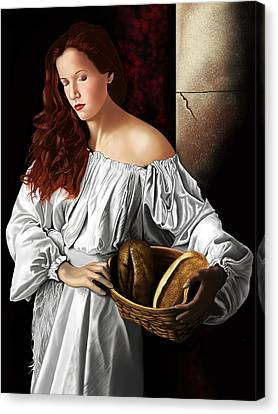 The Beauty Cult Canvas Print by Andrew Harrison