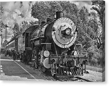 The Brakeman Canvas Print by Robert Frederick