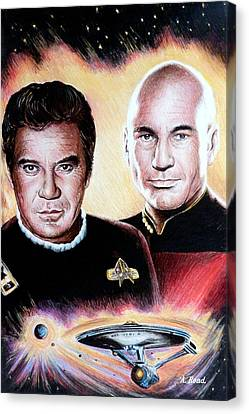 The Captains   Canvas Print by Andrew Read