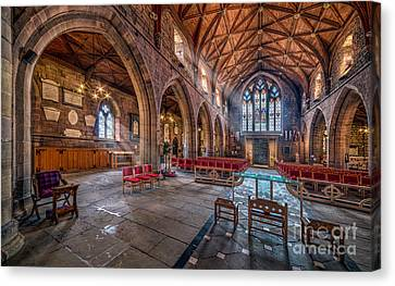 The Cathedral Canvas Print by Adrian Evans