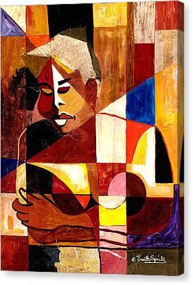 The Matriarch - Take 2 Canvas Print by Everett Spruill