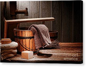 The Old Laundry Canvas Print by Olivier Le Queinec