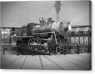 The Turntable Canvas Print by Mike McGlothlen