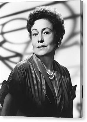Thelma Ritter, Ca. Mid-1950s Canvas Print by Everett