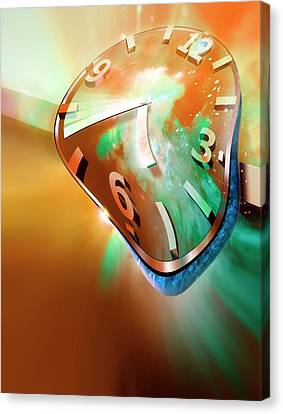 Time Warp Canvas Print by Detlev Van Ravenswaay