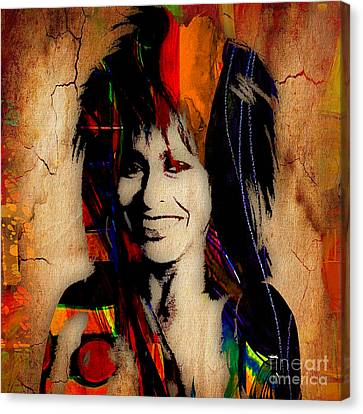 Tina Turner Collection Canvas Print by Marvin Blaine