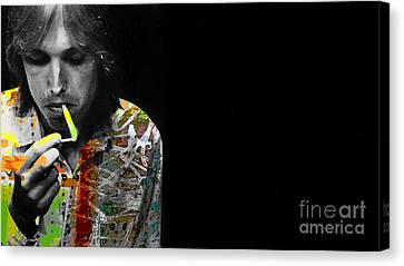 Tom Petty Canvas Print by Marvin Blaine