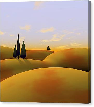 Toscana 3 Canvas Print by Cynthia Decker