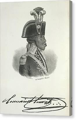Toussaint Louverture Canvas Print by British Library