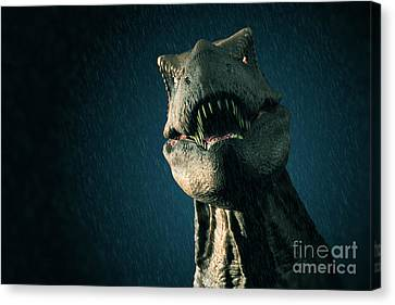 Tyrannosaurus Rex Canvas Print by Science Picture Co