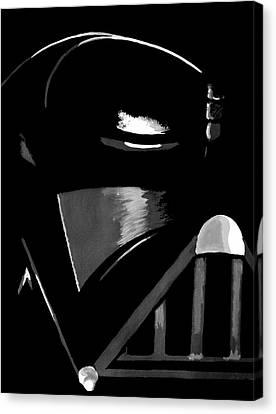 Vader Canvas Print by Dale Loos Jr
