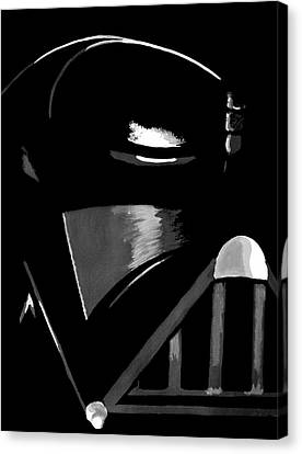 Vader Canvas Print by Dale Loos Jr