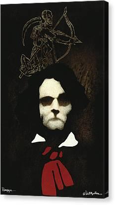 Vampyre... Canvas Print by Will Bullas