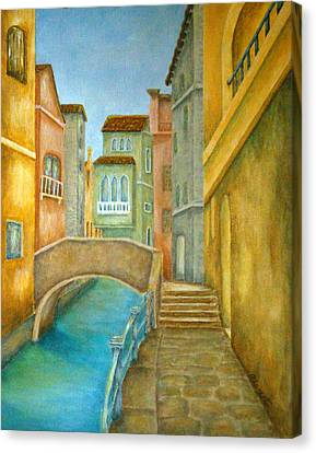 Venezia Canvas Print by Pamela Allegretto