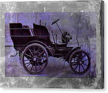 Vintage Car Canvas Print by David Ridley