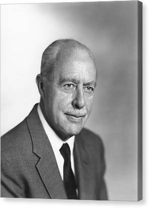 Walter Brattain, Us Physicist Canvas Print by Science Photo Library