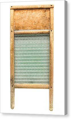 Washboard Canvas Print by Olivier Le Queinec