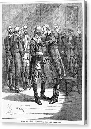 Washingtons Farewell Canvas Print by Granger