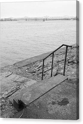 Waterfront Canvas Print by Andrew Martin