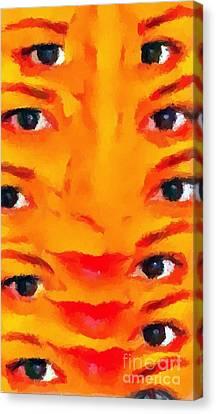 Weird 2 Canvas Print by Chris Butler