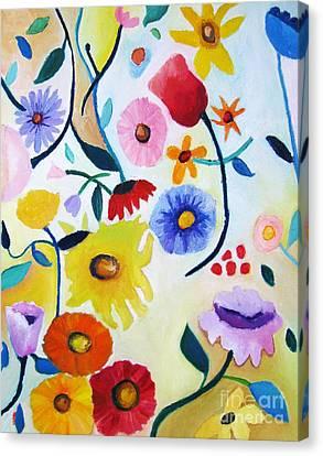Wildflowers Canvas Print by Venus