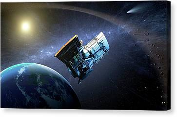 Wise Space Telescope Canvas Print by Nasa
