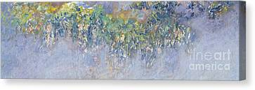 Wisteria Canvas Print by Claude Monet