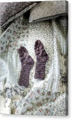 Woollen Socks Canvas Print by Joana Kruse