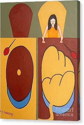 2 Worlds Canvas Print by Patrick J Murphy