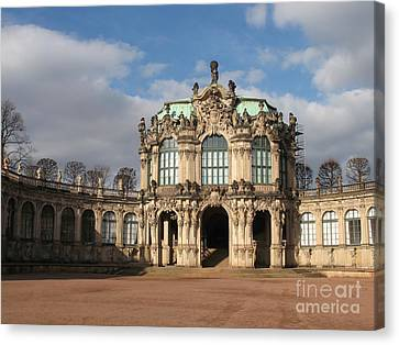 Zwinger - Dresden - Germany Canvas Print by Christiane Schulze Art And Photography