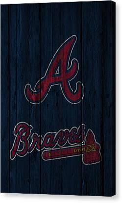 Atlanta Braves Canvas Print by Joe Hamilton