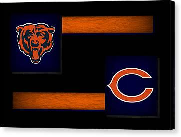 Chicago Bears Canvas Print by Joe Hamilton