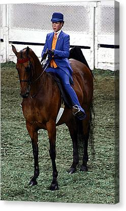 2008-c World Championship Horse Show - Louisville Ky Canvas Print by Thia Stover