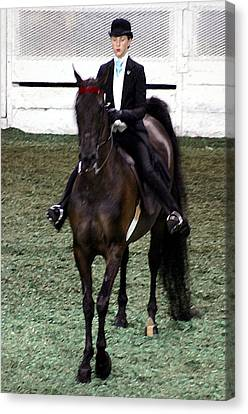 2008-e-world Championship Horse Show - Louisville Ky Canvas Print by Thia Stover