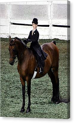 2008-f World Championship Horse Show - Louisville Ky Canvas Print by Thia Stover