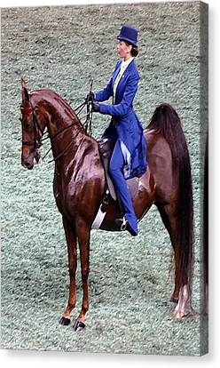 2008-g World Championship Horse Show - Louisville Ky Canvas Print by Thia Stover