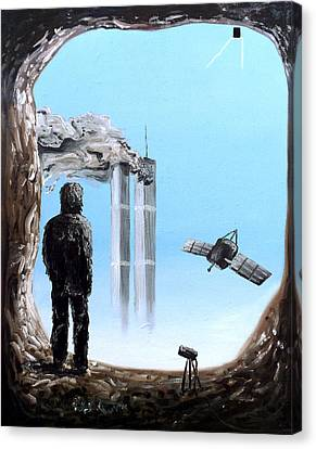 2012-confronting Inevitability Canvas Print by Ryan Demaree
