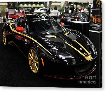 2012 Lotus Evora - 5d20018 Canvas Print by Wingsdomain Art and Photography